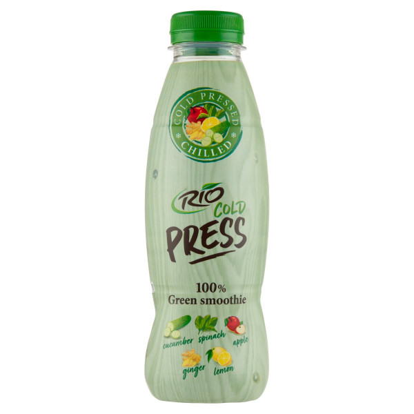 Rio Cold Press 100% Green Smoothie 500ml 1