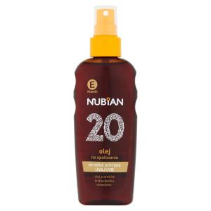 Nubian Olej na opaľovanie SPF20 150ml 12