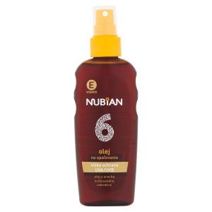 Nubian Olej na opaľovanie SPF6 150ml 14