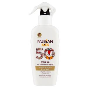Nubian Kids Mlieko na opaľovanie SPF50 200ml 6