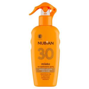 Nubian Mlieko na opaľovanie SPF30 200ml 8