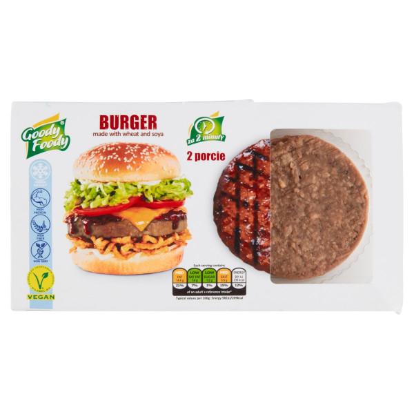 Mr. Vegánsky Burger 226g, Goody Foody 1