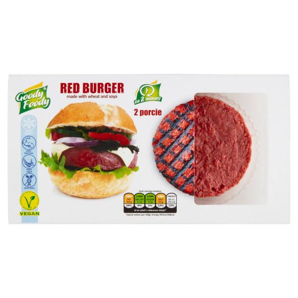 Mr. Vegánsky Red Burger 226g, Goody Foody 1