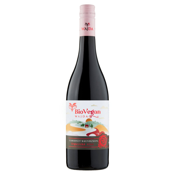 Víno č. Cabernet Sauvignon suché, Wajda 0,75l ESP 1