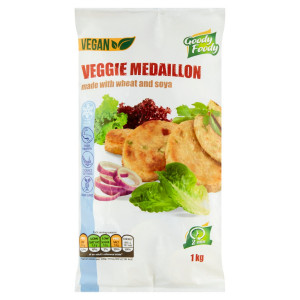 Mr. Vegánsky Veggie medailónik 1kg, Goody Foody 6