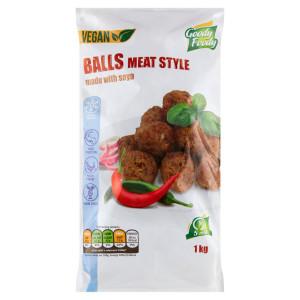 Mr. Vegánske Balls meat style 1kg, Goody Foody 7