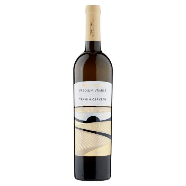 Víno b. Tramín červený polosuché, Predium 0,75l SK 1