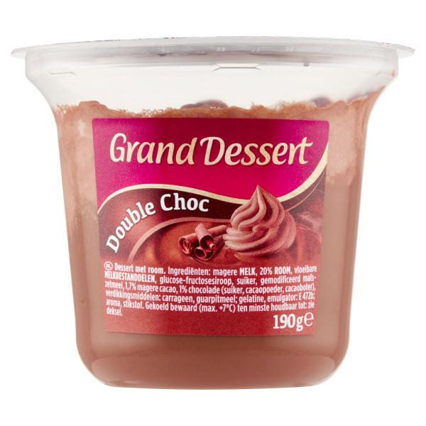 Grand Dessert Double Choc EHRMANN 190g VÝPREDAJ 1