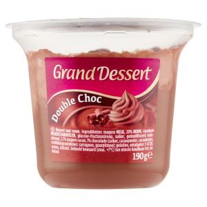 Grand Dessert Double Choc EHRMANN 190g VÝPREDAJ 20