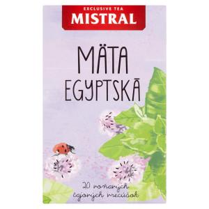 Mistral Mäta Egyptská bylinný čaj 20x1,5g 50