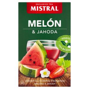Mistral Melón & jahoda ovocný čaj 20x2g 51