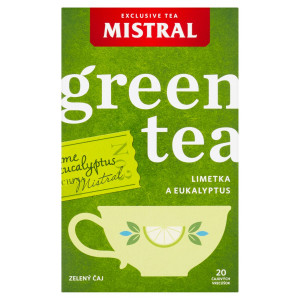 Mistral Limetka a eukalyptus zelený čaj 20 x 1,5 g 49