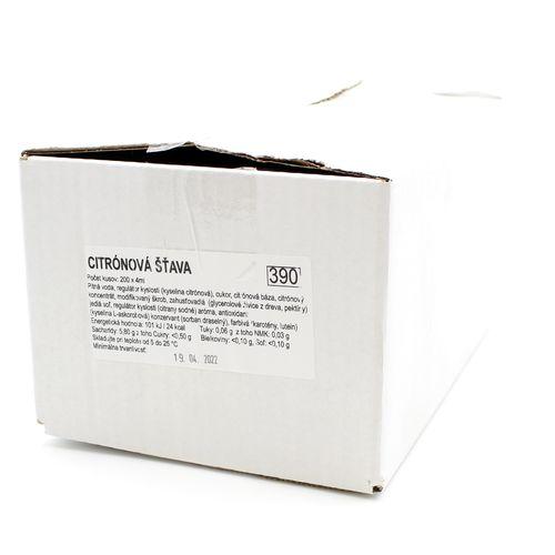 Citrónka do čaju HB 200 x 4ml, SNOTY 2