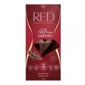 RED Extra horká čokoláda 60%kakaa 100g 5