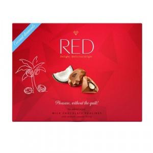 RED Pralinky z mliečnej čokolády kokosové 132g 14