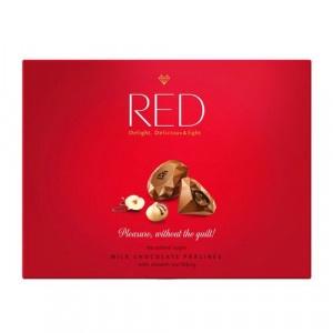 RED Pralinky z mliečnej čokolády orieškové 132g 15