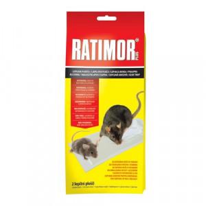 Ratimor lepiaca doska na myši a potkany 2ks 86