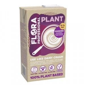 Smotana FLORA Plant cream rastlinná 15% 1l 7