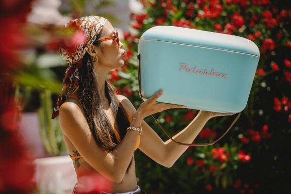 Polarbox ,Chladiaci box Classic 12 l, tyrkysový 3