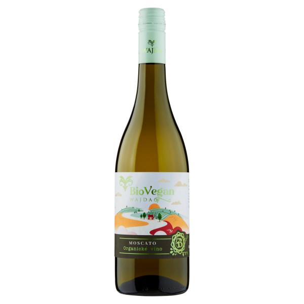 Víno b. Moscato polosladké, Wajda 0,75l IT 1