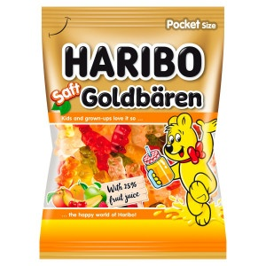 Haribo Saft Goldbären 85 g 14