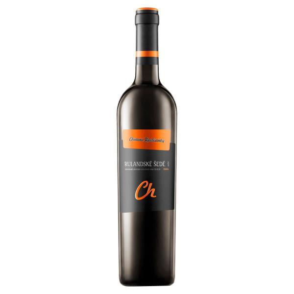 Víno b. Rulandské šedé suché, VZT 0,75l SK 1