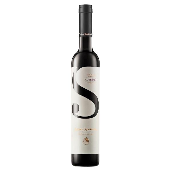 Víno r. Alibernet slamové sladké, VZT 0,375l SK 1