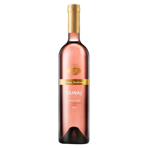Víno r. Dunaj polosladké, VZT 0,75l SK 1