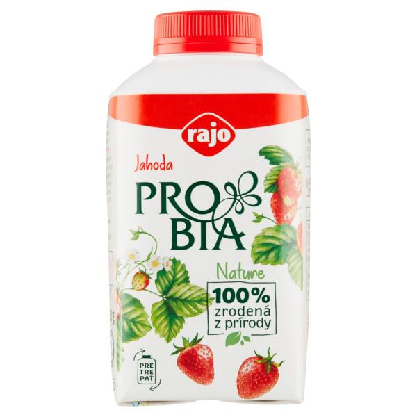 Jogurtový Nápoj PROBIA Jahoda RAJO 430g 1