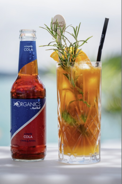 Red Bull Organics simply Cola 250ml sklo 2