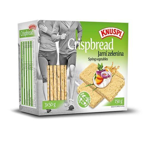 Knuspi Crispbread 150g, jarná zelenina 1