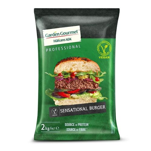 Mr. Vegan burger sensational, Garden Gourmet 2kg 1
