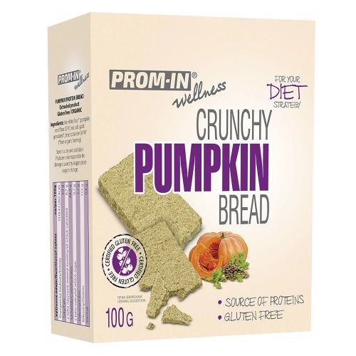 Prom-in Crunchy Bread 100g, tekvicové plátky 1