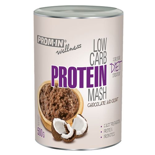 Prom-in Low Carb Protein Mash 500g, čoko kokos 1