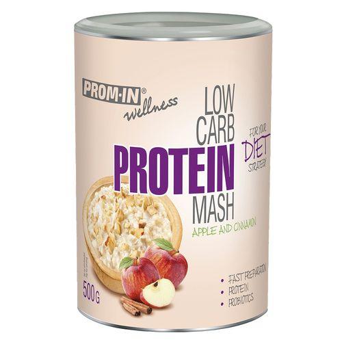 Prom-in Low Carb Protein Mash 500g, jablko škorica 1