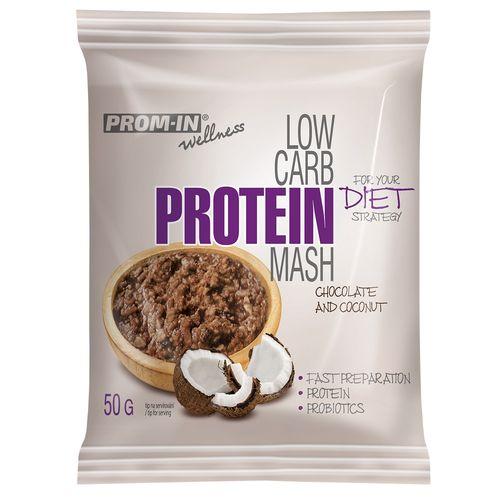 Prom-in Low Carb Protein Mash 50g, čoko kokos 1