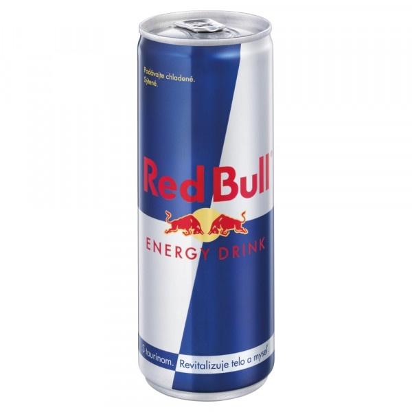 Red Bull Energy drink 250ml plech 1