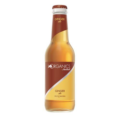 Red Bull Organics Ginger ale 250ml sklo 1