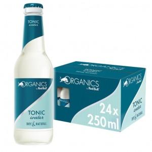 Red Bull Organics Tonic water 24 x 250ml sklo 4