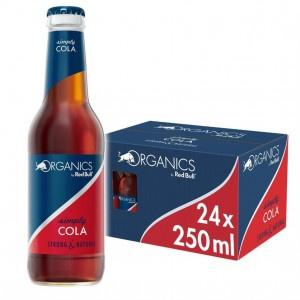 Red Bull Organics simply Cola 24 x 250ml sklo 7