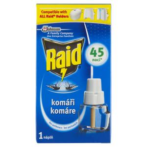 Raid Komáre el. odparovač náhradná náplň 27ml 89