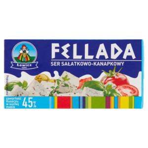 Syr polotučný slaný mäkký FELLADA 45% 220 g 13