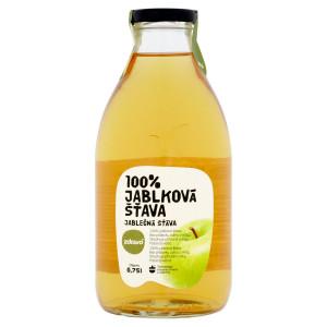 Ovocná šťava jablko 100% ZDRAVO 0,75l 20