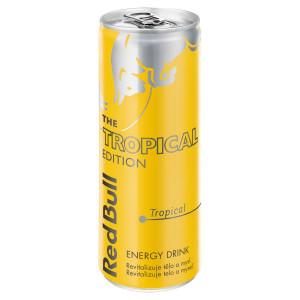 Red Bull Tropical edition 250ml plech 13