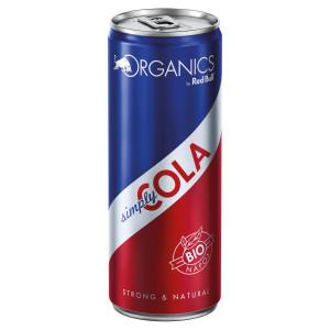 Red Bull Organics Simply Cola 250ml plech 4