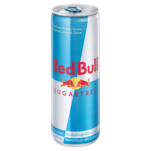 Red Bull Sugar Free 355ml plech 12