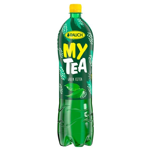 Ľadový čaj Rauch My Tea zelený čaj s citrónom 1,5l 1