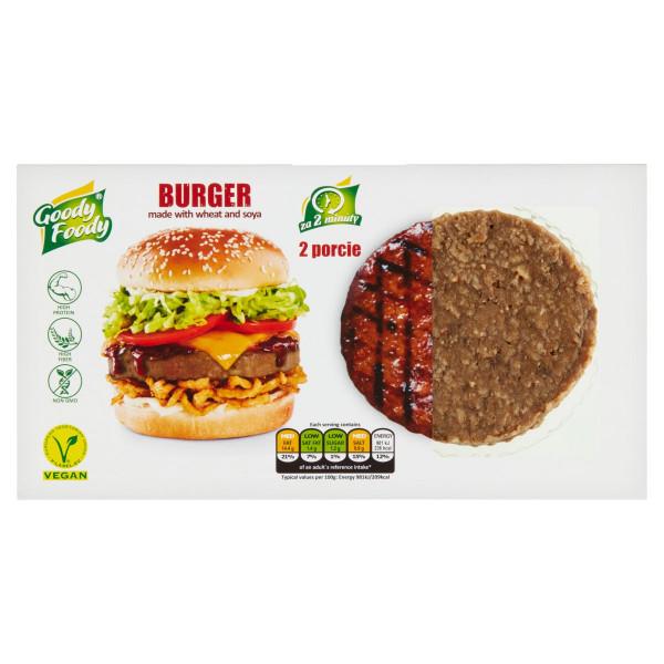 Vegánsky Burger 226g, Goody Foody 1