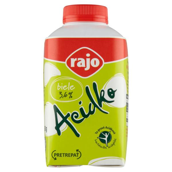 Acidko biele 3,6% RAJO 450g 1
