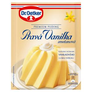 Premium puding Pravá vanilka smot. Dr. Oetker 40g 5